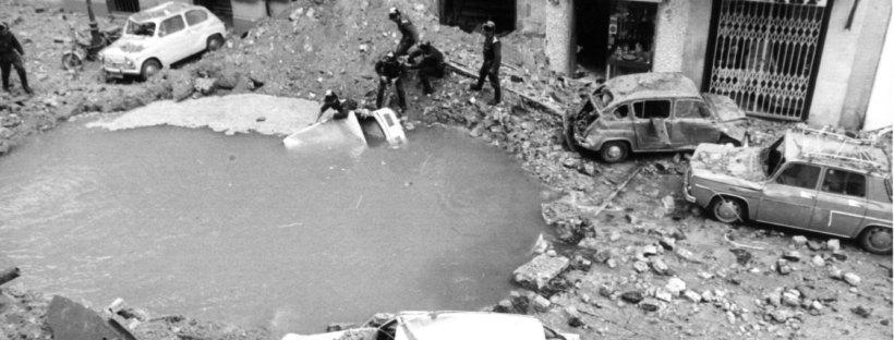 agujero atentado Carrero Blanco
